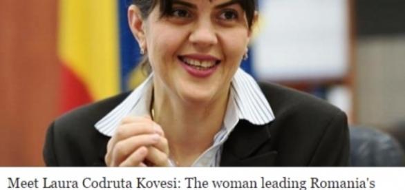 Presa britanica despre Laura Codruta Kovesi