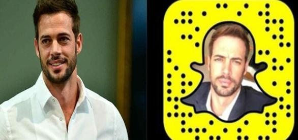 William Levy cria perfil no Snapchat