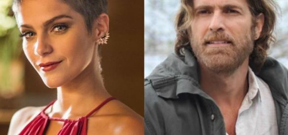 A Lei do Amor: a atriz Isabella Santoni e o ator Reynaldo Gianecchini