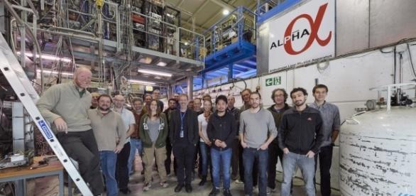 Alpha Team, photo courtesy CERN Press office.