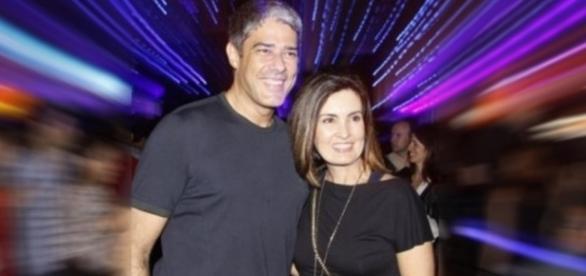 Bonner e Fátima avisam que continuam sendo amigos, mas não voltam a ser casal