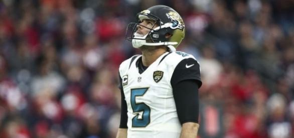 Bortles pode perder o posto de líder dos Jaguars devido a uma temporada pífia (Foto: Troy Taormina/USA TODAY Sports)