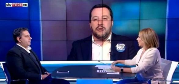 Matteo Salvini e Giovanni Toti