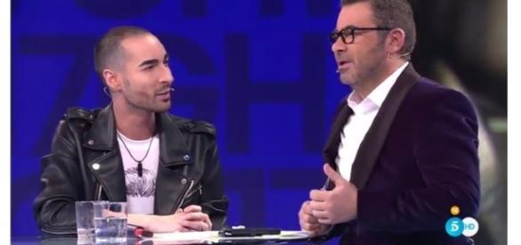 Miguel y Jorge Javier, durante la entrevista.