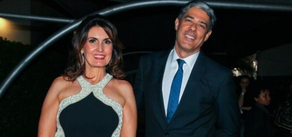O casal foi flagrado em um shopping no Rio de Janeiro