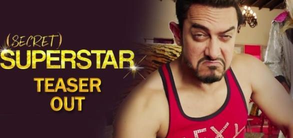 Screenshot from Secret Superstar teaser from youtube/zee studios