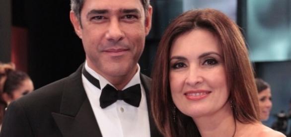 William Bonner e Fatima Bernardes - TVGLOBO