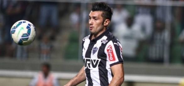 Dátolo atuando pelo Atlético Mineiro