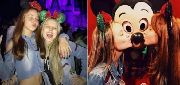 Larissa Manoela vai para a Disney com dublê - Google