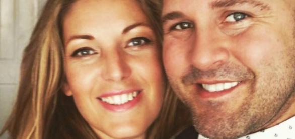 Nicola Cross com o marido, Daniel