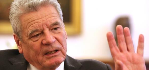 Präsident Gauck hat sich zu Syrien geäußert. (Fotoverantw./URG Suisse: Blasting.News Archiv)
