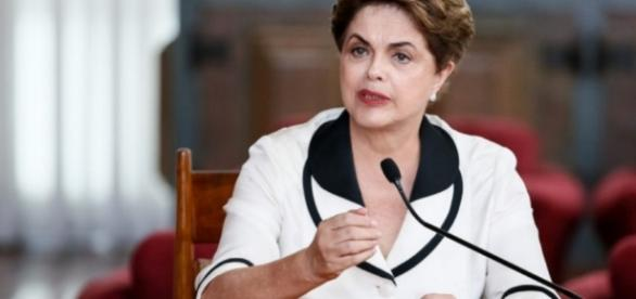 Dilma Rouseff criticou novamente o processo de seu impeachment