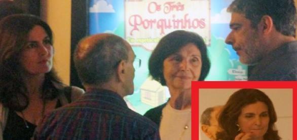 Fátima Bernardes e William Bonner - Google