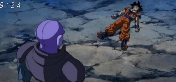 Hit luego de matar a Goku en la Tierra