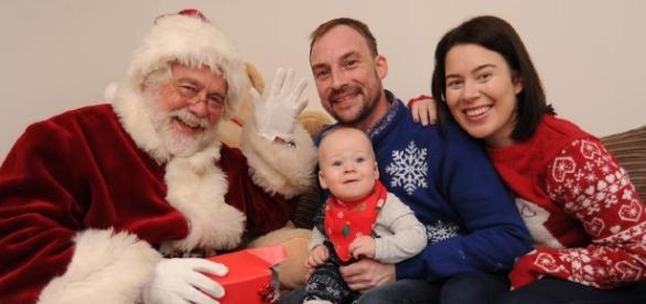 O Papai Noel esse ano chegou mais cedo