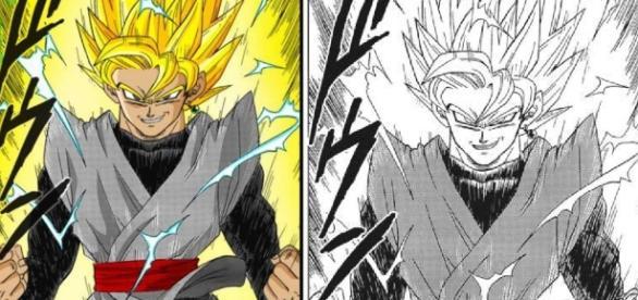 Black y su transformacion diferente a la del anime