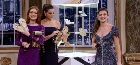 Camila Queiroz e Marina Ruy Barbosa, juntas, no 'Melhores do Ano'