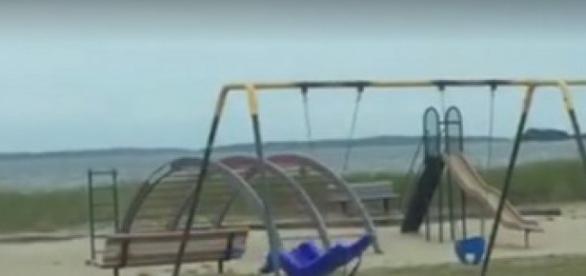 Fenomenul ciudat a avut loc într-un parc pentru copii