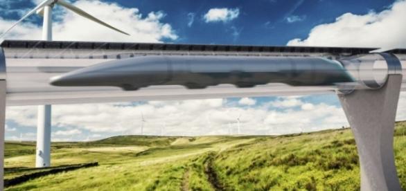 L'hyperloop, le train du futur ! - rcf.fr