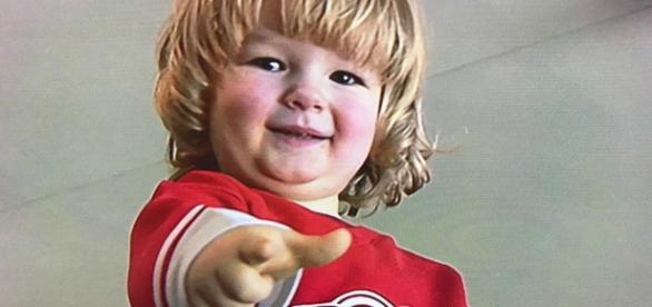 Mason, de dois anos, foi o mais aplaudido da noite