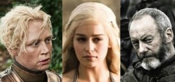 Brienne, Daenerys y Davos se verán las caras