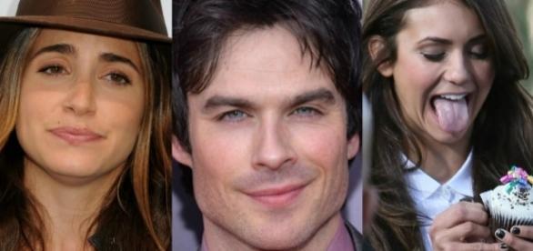 Esposa de Ian Somerhalder teria proíbido-o de atuar com sua ex-namorada Nina Dobrev.