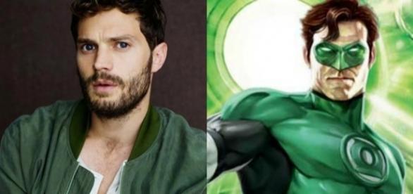 Jamie Dornan pode viver o Lanterna Verde nos cinemas