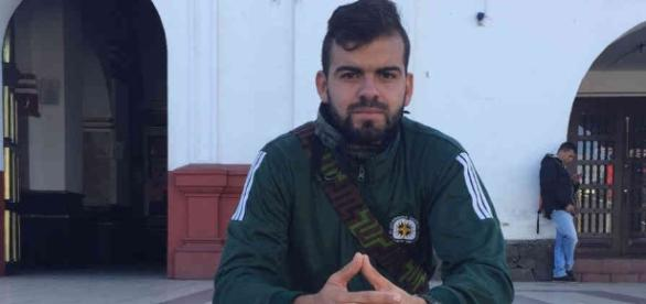 Jornalista David Blandón ajudou em resgate