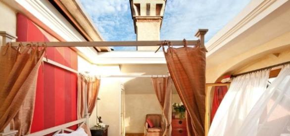 L'Albereta Cabriolet Suite, una splendida panorama