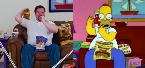 Las cosas que Homer ha promocionado en la serie