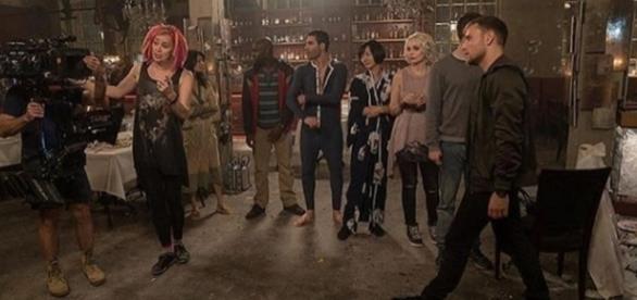 Segunda temporada de 'Sense8' teve cenas gravadas no Brasil (Foto: Reprodução/Instagram)