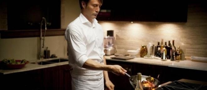 La sortie d'un livre de cuisine dédié à la série Hannibal