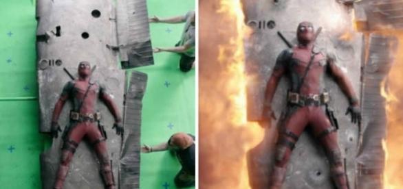 Criação de efeitos especiais em cenas