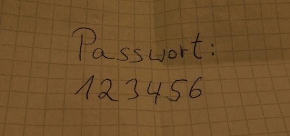 Das meist genutzte Passwort weltweit (Foto: Carl Kralle)