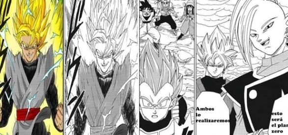 Capturas del manga 19 de Dragon Ball Super