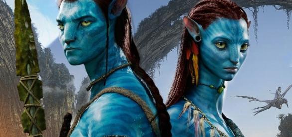 Imagen de los actores de la película Avatar