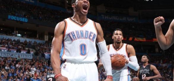 Le MVP de la nuit : Russell Westbrook (51 points, 13 rebonds et 10 ... - newsbasket-beafrika.com