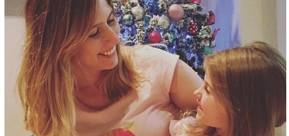 Lorena Queiroz e sua mãe, Gabriela Queiroz
