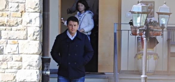 Matteo Renzi al supermercato di Pontassieve: immortalato da 'Chi'