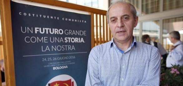 Mauro Alboresi, segretario nazionale PCI