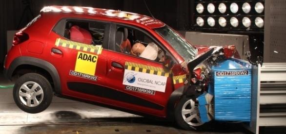 Reprovado nos testes de segurança do Global NCAP, Renault Kwid ganha a chancela de microSUV: para a Europa, ele foi descartado