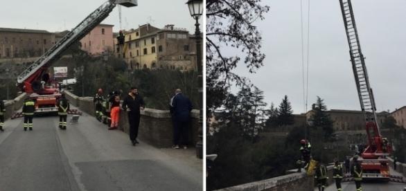 Român DISPĂRUT în Italia. Alerta a fost dată de un STEAG TRICOLOR pe balustrada unui pod