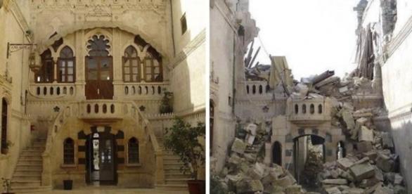 Siria - înainte și după război