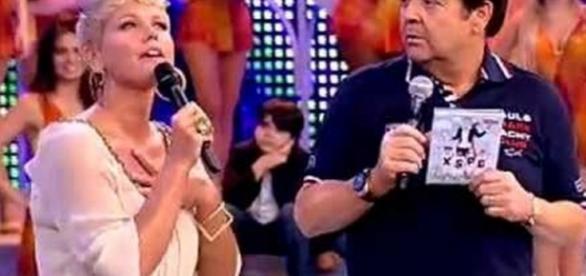Xuxa quer quadro de Faustão e a coisa 'fica feia' - Google
