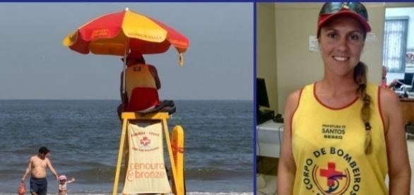 A salva-vidas Roberta impediu que um crime mais grave ocorresse