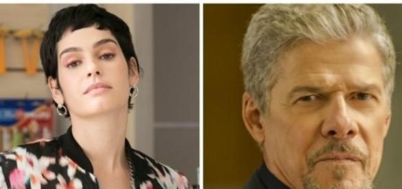 Flávia e Tião em 'A Lei do Amor' (Divulgação/Globo)