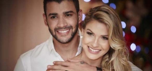 Gustavo Lima e Andressa Suita serão papais em 2017. (foto: reprodução / Instagram)