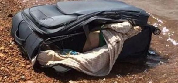 Homem foi morto e colocado em uma mala - Google