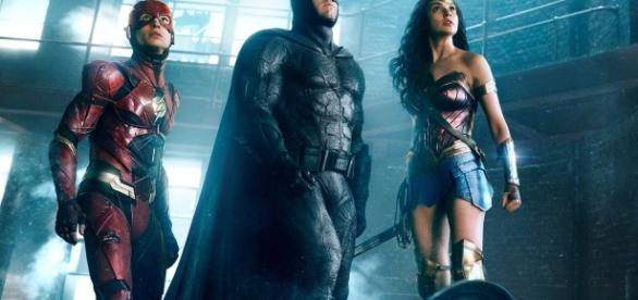 Imagen de Flash, Batman y Wonder Woman