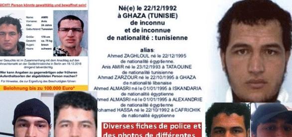 Les avis de recherche visant Anis Amri ont été diffusés en diverses langues européennes et se propagent mondialement